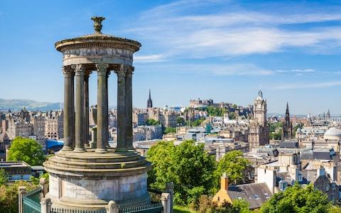 Calton Hill - Credit: This content is subject to copyright./Neale Clark