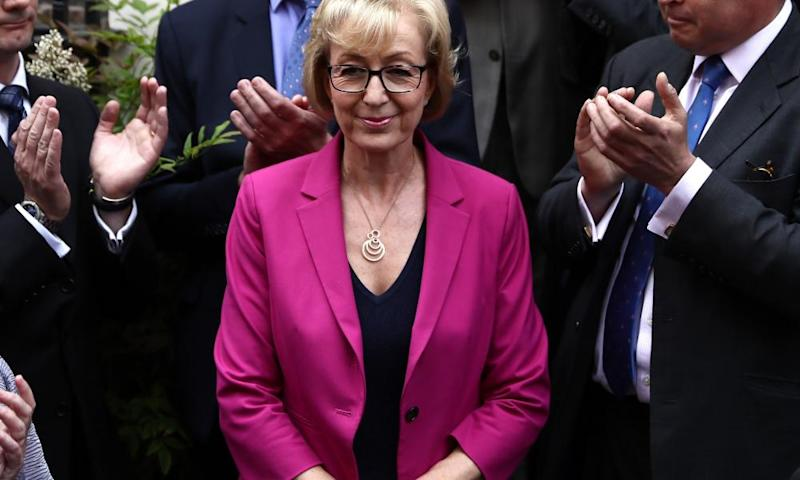 Andrea Leadsom sank from public notice after her Times interview with Rachel Sylvester.