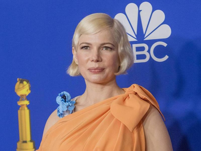 Michelle Williams implores women to vote and support the 'right to choose'