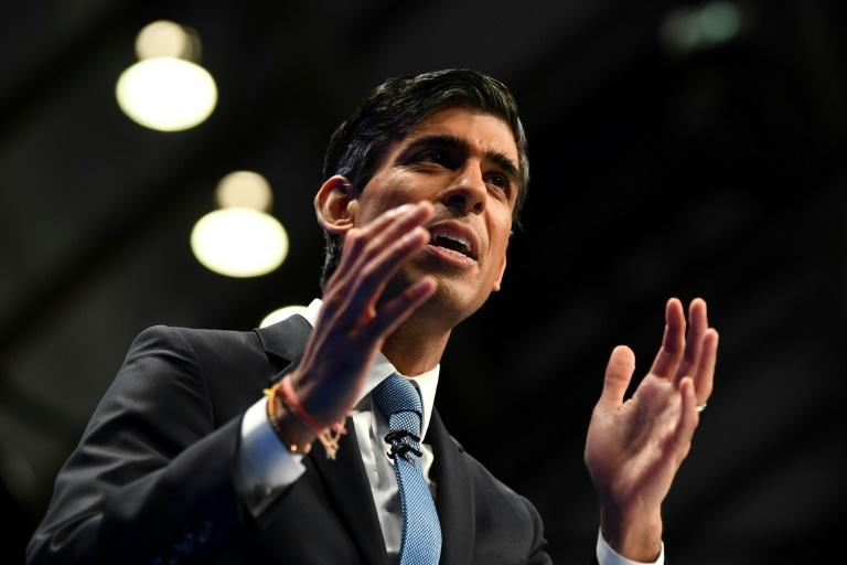 Rishi Sunak has admitted that job losses were inevitable as government support for workers during the pandemic comes to an end (AFP/Ben STANSALL)