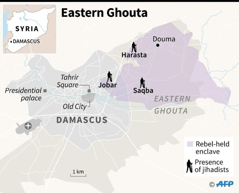 Bombs still fall on Syria's Ghouta after heaviest toll in years