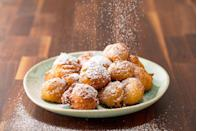 """<p>These are best served fresh, but don't stress...you won't be able to wait anyway.</p><p>Get the recipe from <a href=""""https://www.delish.com/cooking/recipe-ideas/a19464801/easy-beignets-recipe/"""" rel=""""nofollow noopener"""" target=""""_blank"""" data-ylk=""""slk:Delish"""" class=""""link rapid-noclick-resp"""">Delish</a>.</p>"""