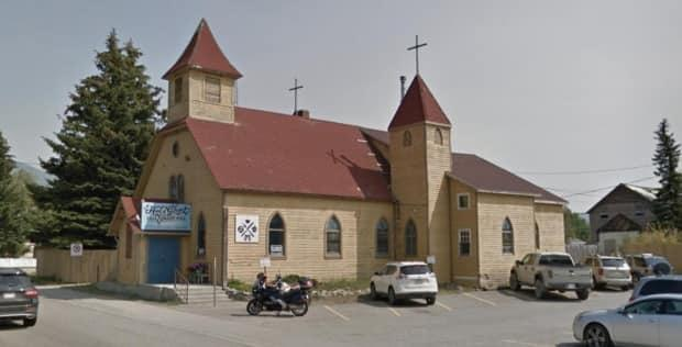 The church has stood in the town of Coleman since 1905. Its current owner, Kym Howse, turned it into the Blackbird Coffee House after buying it 14 years ago. This photo was taken in 2018. (Google Street View - image credit)