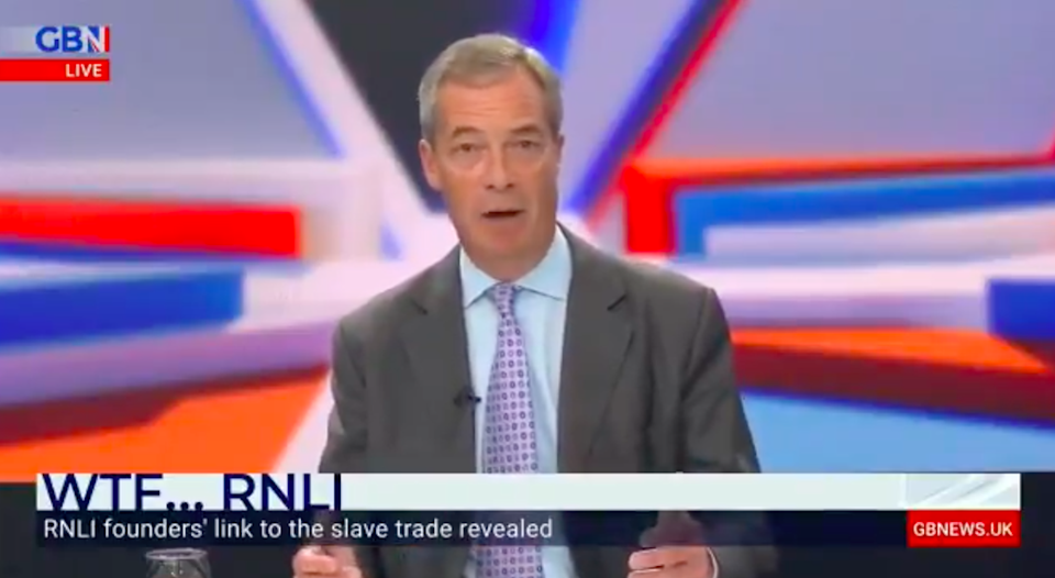Farage still has things to prove, and people to despise  (GB News)
