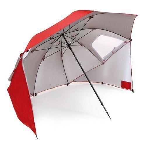 "Get this sun umbrella from Sport-Brella <a href=""https://www.amazon.com/Sport-Brella-Portable-All-Weather-Umbrella-Canopy/dp/B002CLQ1Q2/ref=sr_1_3?ie=UTF8&qid=1520954406&sr=8-3&keywords=beach+umbrella"" target=""_blank"">here</a>."