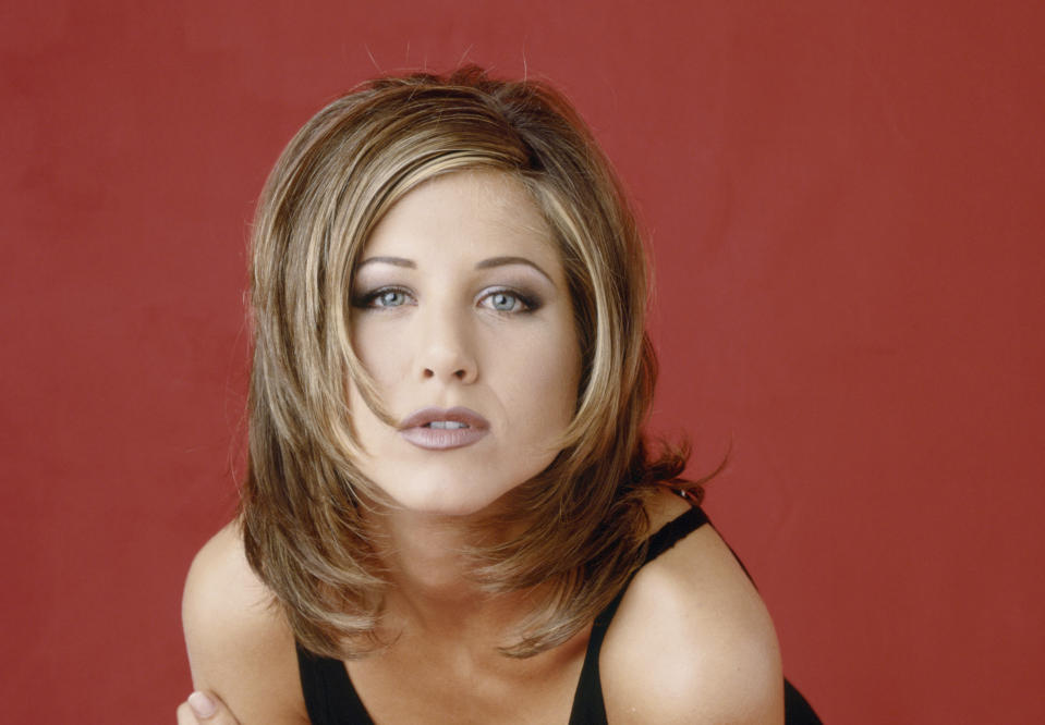 Remember & quot;  Rachel & quot;  The hairstyle was quite beautiful in the 1990s.  (Photo: Getty)