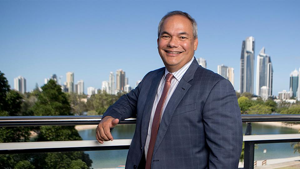Gold Coast mayor Tom Tate made a racist remark at a press conference on Monday. Source: AAP