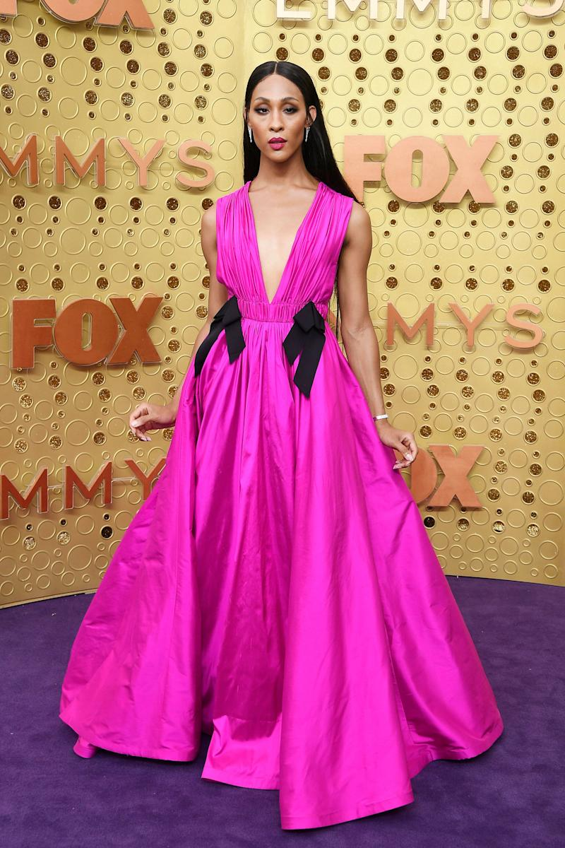 Mj Rodriguez attends the 71st Emmy Awards at Microsoft Theater on September 22, 2019 in Los Angeles, California. (Photo: Frazer Harrison via Getty Images)