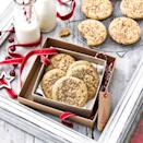 """<p>All the flavours of the festive drink in a chewy, American-style cookie. Yum!</p><p><strong>Recipe: <a href=""""https://www.goodhousekeeping.com/uk/food/recipes/a29697627/eggnog-cookies/"""" rel=""""nofollow noopener"""" target=""""_blank"""" data-ylk=""""slk:Eggnog cookies"""" class=""""link rapid-noclick-resp"""">Eggnog cookies</a></strong></p>"""