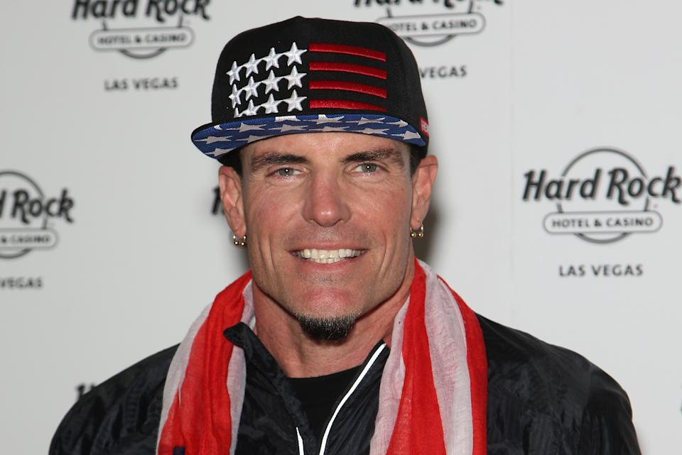 Rapper Vanilla Ice performed at a New Year's Eve party at Mar-a-Lago in Palm Beach, Fla. (Photo by Gabe Ginsberg/Getty Images)
