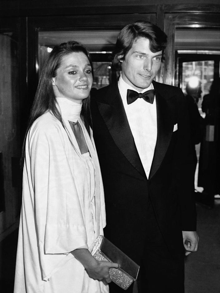 Christopher Reeve with Gae Exton