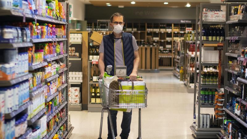 Shoppers returning to supermarkets more regularly despite new mask rules