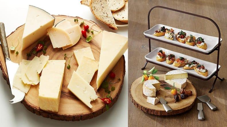 We love this elegant cheese plate from Crate & Barrel.