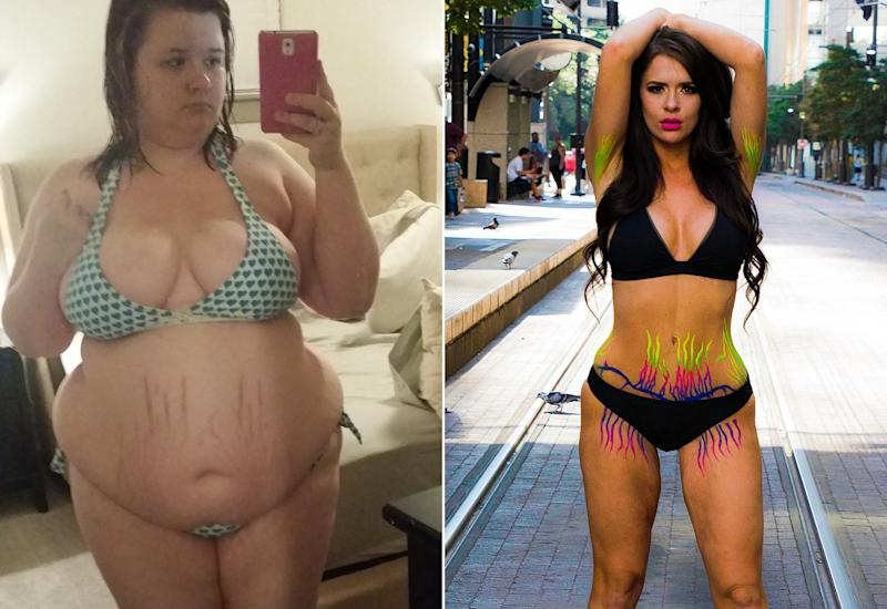 Christine Carter was once 275 pounds, and her life changed forever when she decided to undergo gastric bypass surgery. Don't worry, she already knows what you're thinking about her transformation - maybe judging her because she's had surgery.