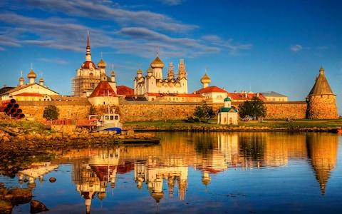 Solovetsky Monastery - Credit: Getty