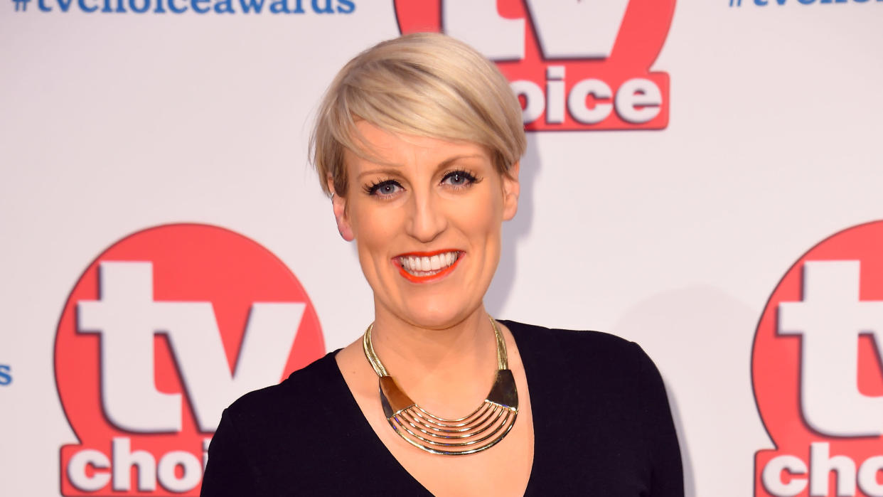 Steph McGovern rushed to her local fire station after her finger swelled in the wake of it becoming trapped in a door. (Matt Crossick/PA Images via Getty Images)
