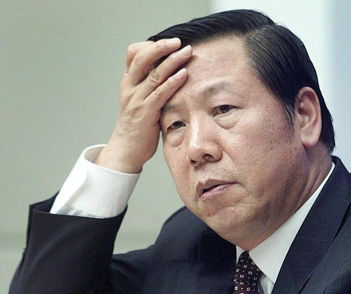 """Dai Xianglong """"is cooperating with"""" the ruling Communist Party's internal watchdog, says Bloomberg News (AFP Photo/)"""