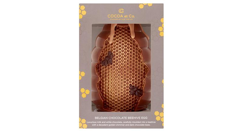 Cocoa et Co Belgian Chocolate Beehive Egg