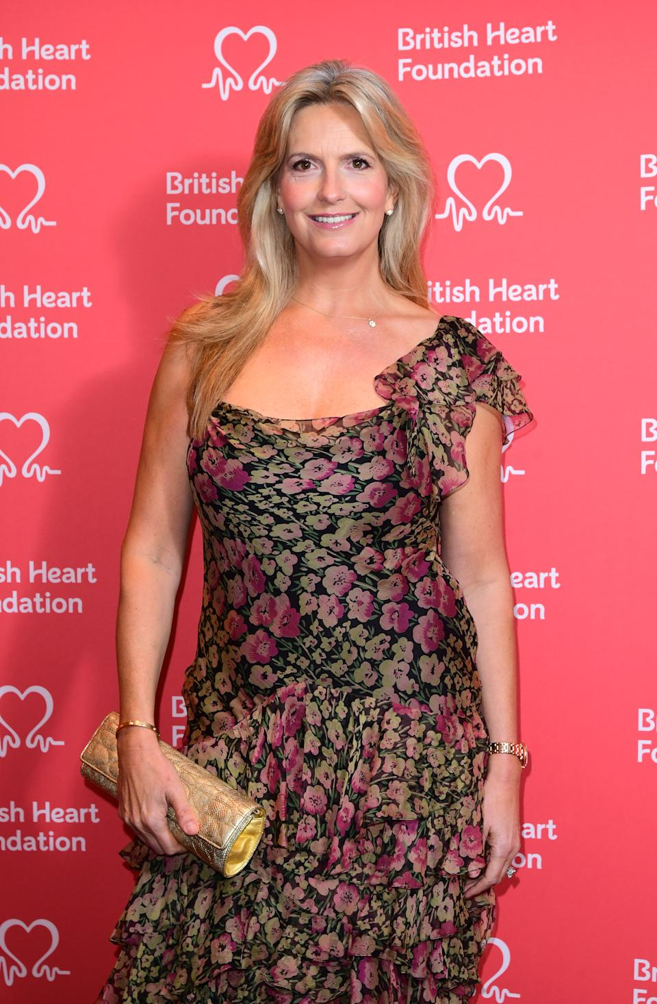 Penny Lancaster attends the British Heart Foundation's Heart Hero Awards at the Globe Theatre in London. Picture date: Friday September 20, 2019. Photo credit should read: Ian West/PA Wire (Photo by Ian West/PA Images via Getty Images)