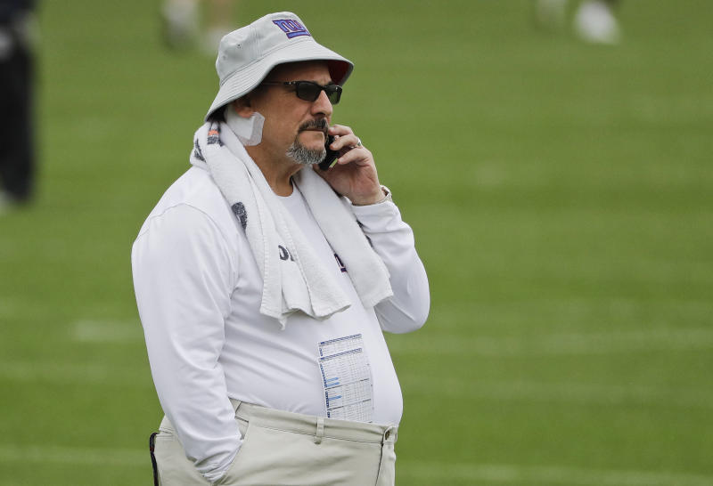 Could a general manager such as Dave Gettleman, pictured, draft someone other than Trevor Lawrence at No. 1? It wouldn't be totally stunning. (AP Photo/Frank Franklin II)