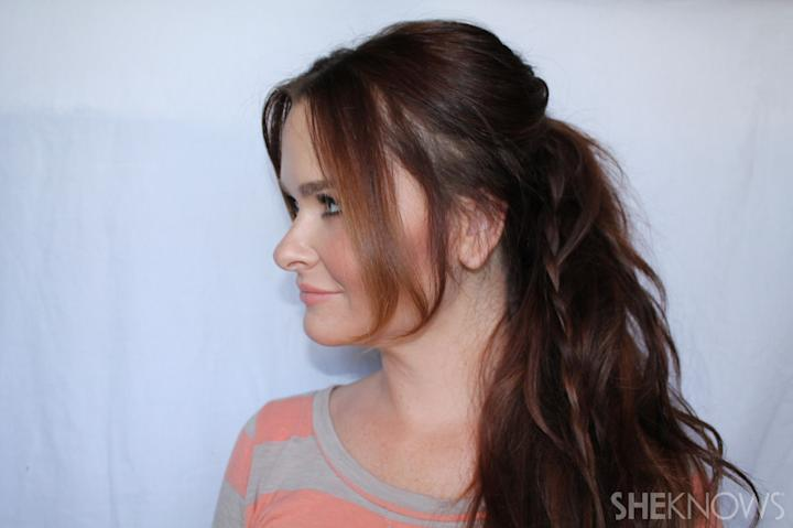 Fashionista Ponytail | Sheknows.com - step 05