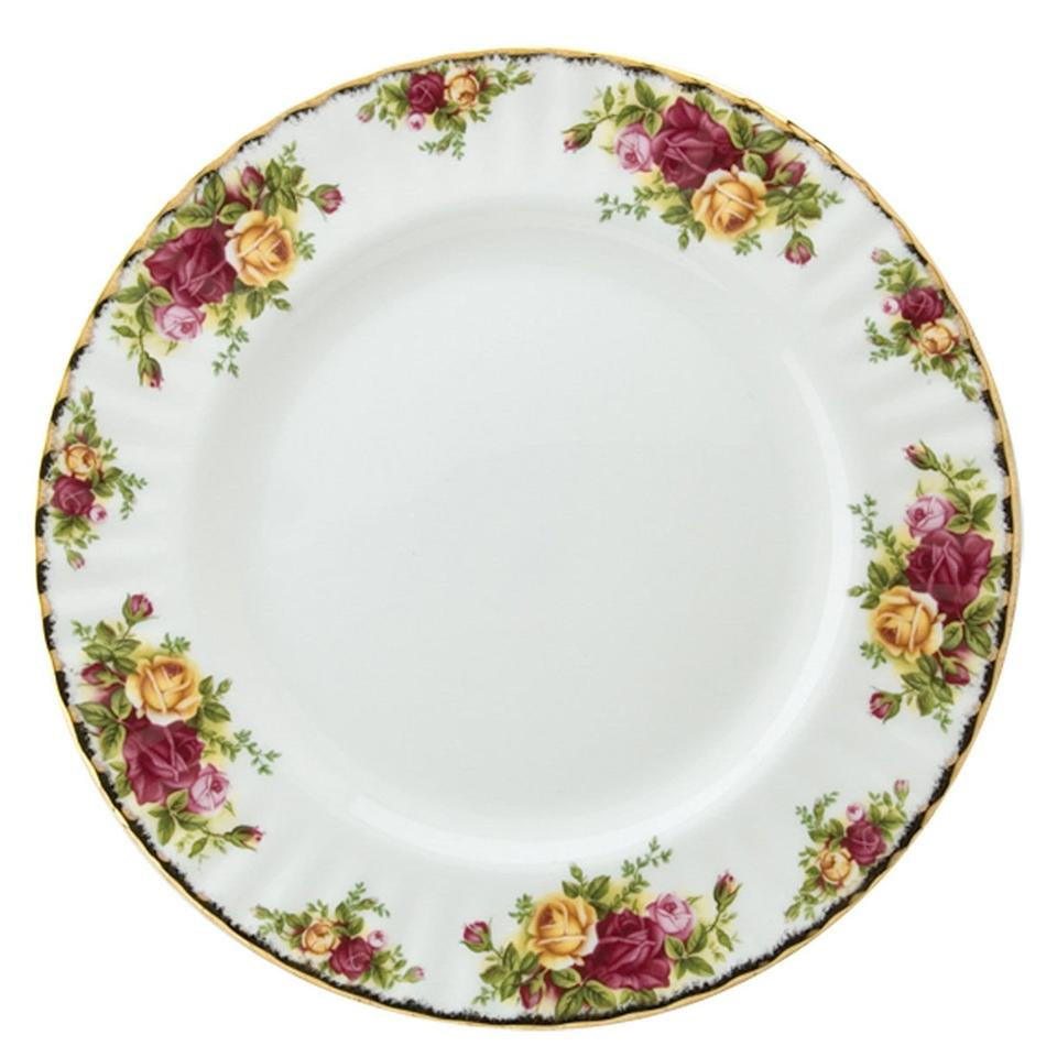 "<p>If you're a sucker for plates covered in blooming sprays of colorful English roses, you know how to host a garden party or baby shower like nobody's business. Not to mention, you think everyone should hold themselves to the etiquette standard of the Queen of England herself—but never, ever be called rigid.</p> <p>Manners matter, you say, but should be invisible. This pattern possesses a charm that borderlines on fanciful, which is exactly what a royal might choose for the spring garden party...</p> <p><b>BUY IT:</b> <strong>$56 for dinner plate; </strong><strong><a href=""https://click.linksynergy.com/deeplink?id=93xLBvPhAeE&mid=3184&murl=https%3A%2F%2Fwww.macys.com%2Fshop%2Fproduct%2Froyal-albert-old-country-roses-10.25-dinner-plate%3FID%3D80986%26CategoryID%3D53630%26tdp%3Dcm_app%7EzMCOM-NAVAPP%7Excm_zone%7EzPDP_ZONE_B%7Excm_choiceId%7EzcidM06MAT-455d176d-5e16-48e2-bc86-68c5f3048cbe%2540H8%2540customers%252Balso%252Bloved%252453630%252480986%7Excm_pos%7EzPos4&u1=SL%2CRX_1909_PersonalityChinaPatterns_RoyalAlbert%25E2%2580%2598OldCountryRoses%25E2%2580%2599%2Ckyarborough1271%2CHOM%2CIMA%2C638660%2C201909%2CI"" target=""_blank"">macys.com</a></strong></p>"