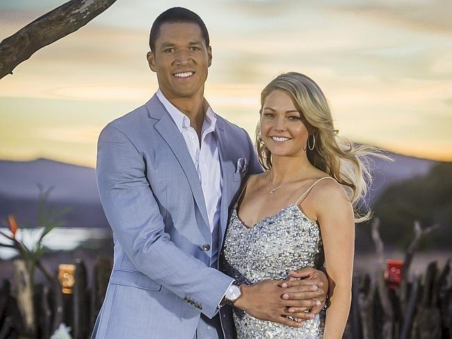 Blake Garvey and Sam Frost. Source: Channel 10