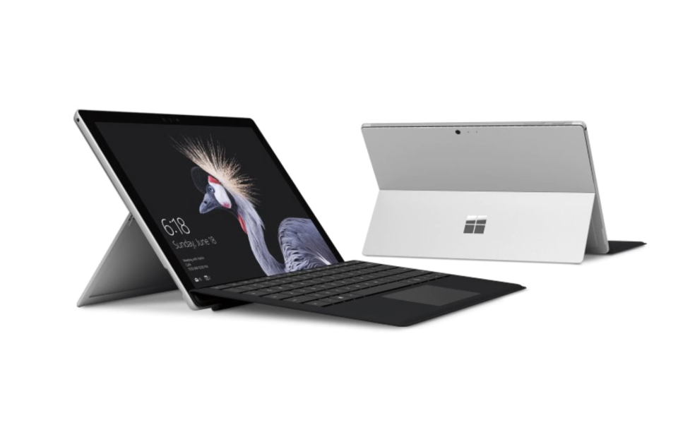 Surface Pro Type Cover with Fingerprint ID. (PHOTO: Microsoft)