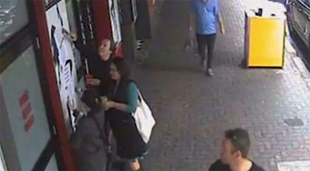 The CCTV was released by the owner manager of The Grosvenor. Photo: Photo: Supplied
