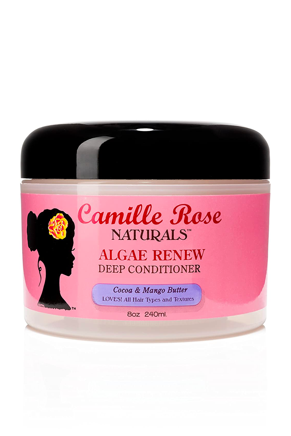 """<p><strong>Camille Rose</strong></p><p>amazon.com</p><p><strong>$19.23</strong></p><p><a href=""""https://www.amazon.com/dp/B006FJKK1Y?tag=syn-yahoo-20&ascsubtag=%5Bartid%7C10049.g.35265911%5Bsrc%7Cyahoo-us"""" rel=""""nofollow noopener"""" target=""""_blank"""" data-ylk=""""slk:Shop Now"""" class=""""link rapid-noclick-resp"""">Shop Now</a></p><p>Every couple weeks, finish off your cleansing and conditioning routine with this deep treatment from Camille Rose, which is <strong>formulated with rich mango butter and coconut oil for extra hydration</strong>. For super-dry 4a hair, throw a plastic cap on your head and sit under a <a href=""""https://www.amazon.com/dp/B07XQ7CW5V?linkCode=ogi&tag=syn-yahoo-20&ascsubtag=%5Bartid%7C10049.g.35265911%5Bsrc%7Cyahoo-us"""" rel=""""nofollow noopener"""" target=""""_blank"""" data-ylk=""""slk:steamer"""" class=""""link rapid-noclick-resp"""">steamer</a> or hooded dryer for 30 minutes while the formula does its thing.</p>"""