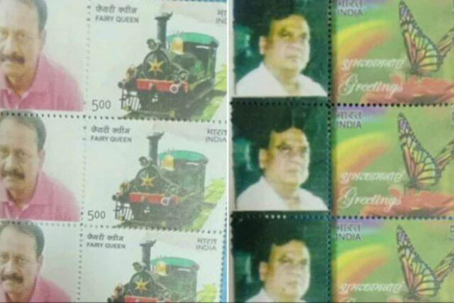 Stamps featuring notorious gangsters Chhota Rajan and Munna Bajrangi