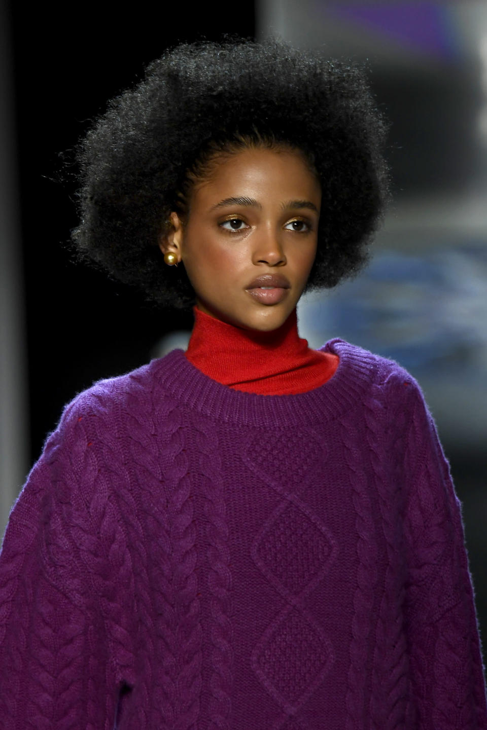 <p>Everything about this look screams cozy. (Photo: Getty Images) </p>