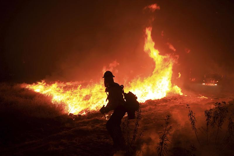 Several wildfires have been breaking out across California: AP