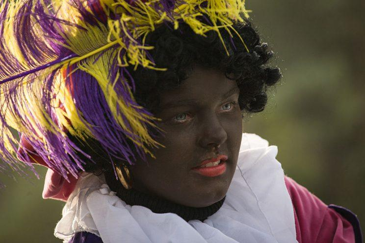 Zwarte Piet has been a holiday tradition in the Netherlands since the 1850s (Photo by Jaap Arriens/Pacific Press/LightRocket via Getty Images)