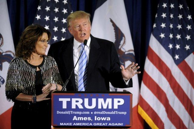 Sarah Palin and Donald Trump