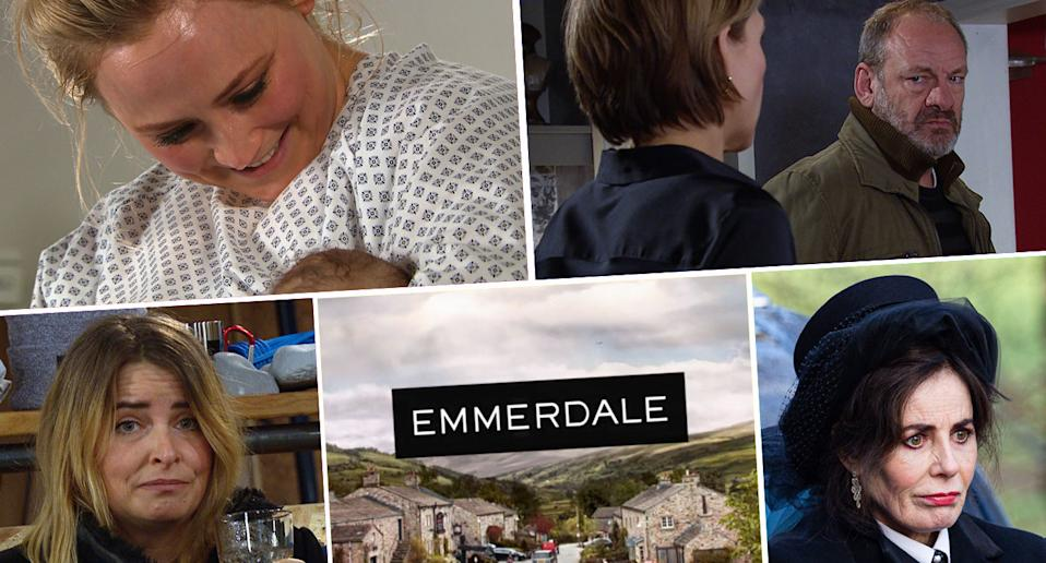 What to expect in Emmerdale next week. (ITV)