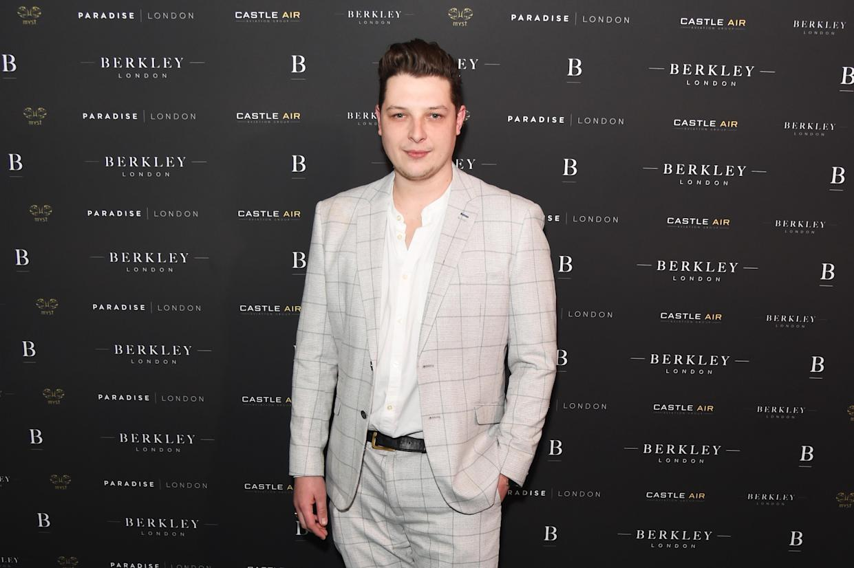 LONDON, ENGLAND - MARCH 04:  John Newman attends the launch of Berkley London, a bespoke luxury chauffeur & concierge founded by John Newman, at The Yard, Shoreditch, on  March 4, 2020 in London, England.  (Photo by David M. Benett/Dave Benett/Getty Images for Berkley London)