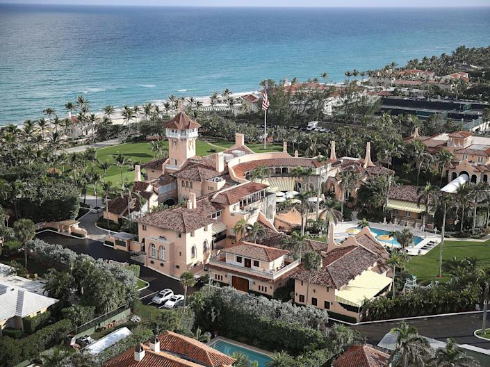 <p>Mar-a-Lago is the 22nd largest house in the US, while the White House is only 33rd</p> (Getty Images)
