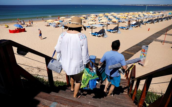 Holidaymakers have been dealt a major blow with Portugal's removal from the green list - Pedro Nunes/Reuters