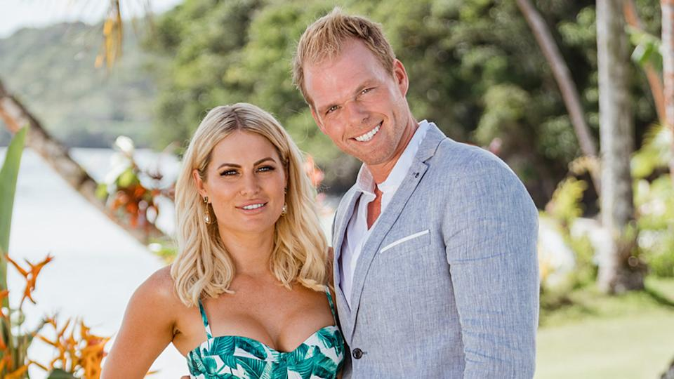 Bachelor in Paradise star Jarrod Woodgate with Keira Maguire