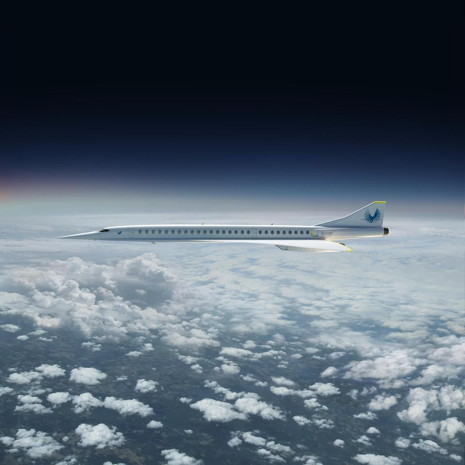 An idea of what the Boom Supersonic, sleek aircraft might look like [Photo: Boom Supersonic]