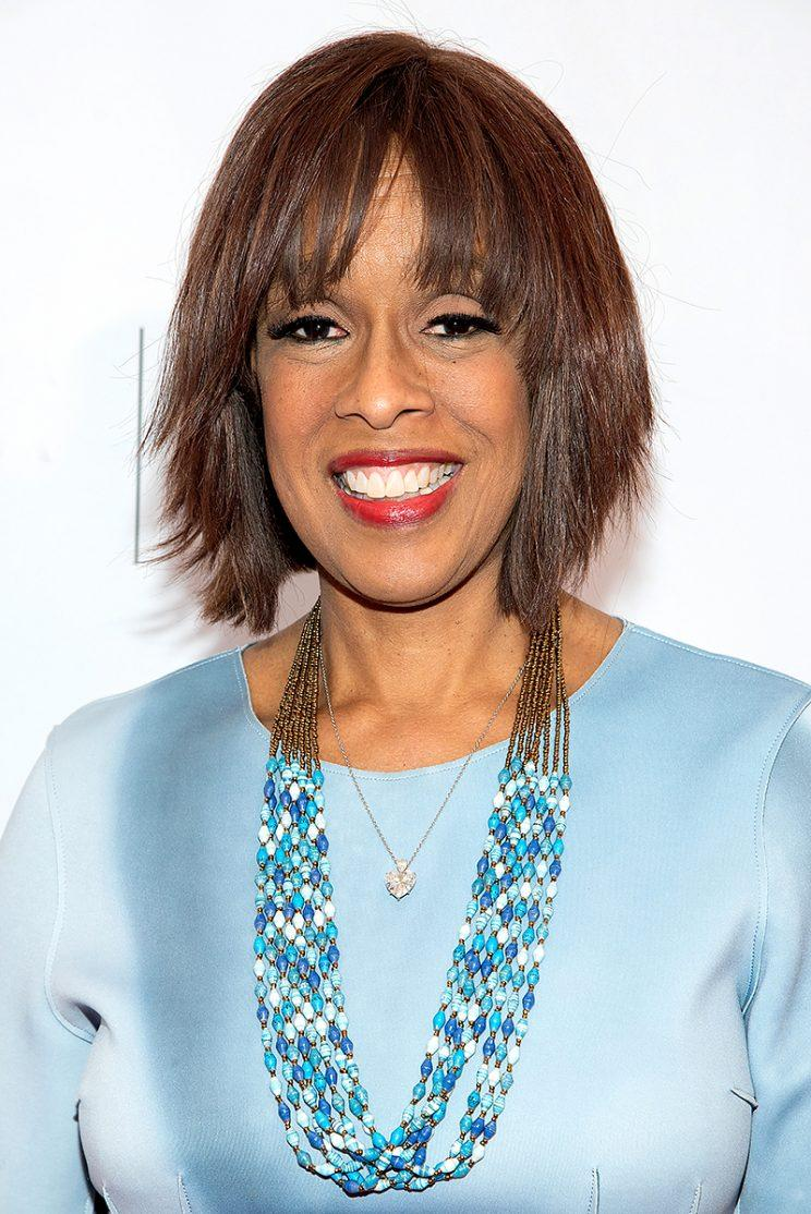 Gayle King Cuts Up Thong To Wear As A Camisole