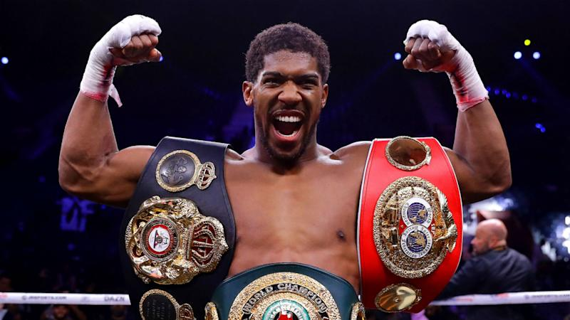 Anthony Joshua vows to beat Tyson Fury but isn't expecting 2020 fight