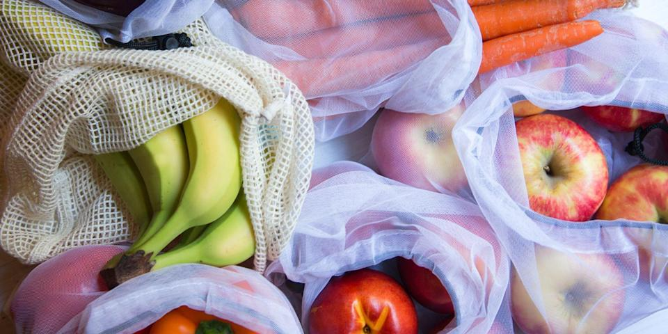 "<p>Whether you are looking to introduce more zero-waste products into your lifestyle or simply want your fruits and veggies to stay fresh for longer, reusable produce bags are an easy and effective option. Replacing plastic bags with a sustainable and eco-friendly choice is good for the environment, but will also end up saving you money as you <a href=""https://www.bestproducts.com/lifestyle/g28847780/reusable-sandwich-bags/"" rel=""nofollow noopener"" target=""_blank"" data-ylk=""slk:eliminate the need for plastic bags"" class=""link rapid-noclick-resp"">eliminate the need for plastic bags</a> over time. The best reusable produce bags are great for storing your delicious fruits and vegetables in the fridge or pantry and come in a variety of shapes and sizes to accommodate your needs.</p><p>We love silicone reusable bags that can stand up and keep your fridge organized. There are machine-washable bags, too, breathable mesh bags, and even compostable bags to choose from — so you can preserve both your groceries and the planet. Below, shop our favorite reusable produce bags.</p>"