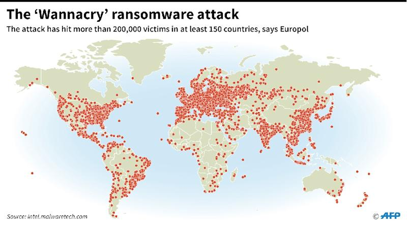 Huge, Unprecedented Ransomware Attack Hits Around the Globe