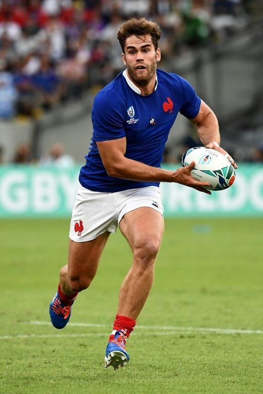 French wing Damian Penaud was a bright spot for Les Bleus (AFP Photo/FRANCK FIFE)