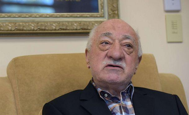 PHOTO: Turkish preacher Fethullah Gulen speaks to members of the media from his home, Sept. 22, 2016, at the Golden Generation Worship and Retreat Center in Saylorsburg, Pa. (Picture Alliance via Getty Images, FILE)