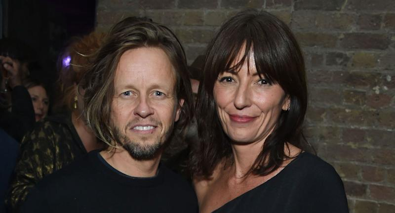 Michael Douglas and Davina McCall attend the Models 1 50th anniversary party at Spring Studios on October 25, 2018 in London, England. (Photo by David M. Benett/Dave Benett/Getty Images)
