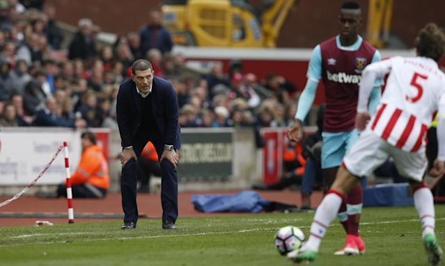 <p>West Ham United manager Slaven Bilic </p>