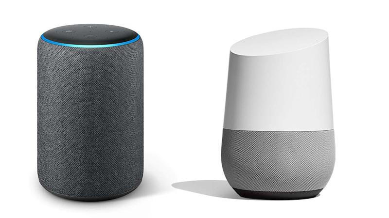 The AI enabled speakers - Amazon's Echo and Google Home